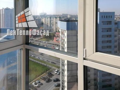 02 Замена остекления балкона ЖК Синяя Птица