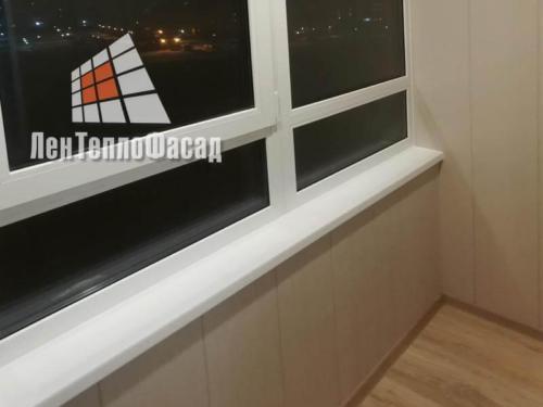 12 Остекление балкона ЖК Муринский Посад